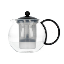 Bodum Assam Tea Press with Plastic Filter 1l - Black