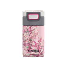 Kambukka - Etna Insulated Mug - Monstera Leaves 300 ml