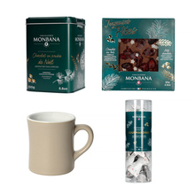 Gift Set: Two Boxes of Palines + Drinking Chocolate + Mug
