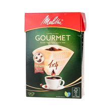Melitta Gourmet Aroma Zones Paper Coffee Filters 1x4 - Brown - 80 pieces