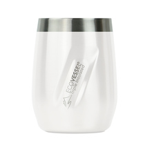 EcoVessel - Insulated tumbler mug Port - Pearl White 296 ml