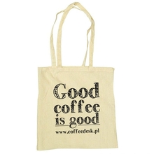 Eco bag - Good Coffee Is Good - Cream-coloured