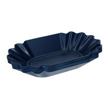 Rhinowares Coffee Gear Blue Oval Cupping Trays - Pack of 12