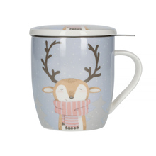 Mount Everest - Christmas Ed Mug with a Tea Strainer (outlet)