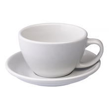Loveramics Egg - Cafe Latte 300 ml Cup and Saucer - White