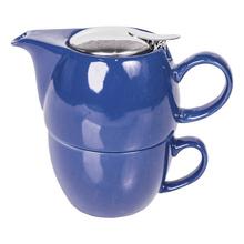 Mount Everest Tea - Blue Tea For One Set