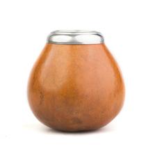 Calabaza Rebocon - Calabash for yerba mate - Brown