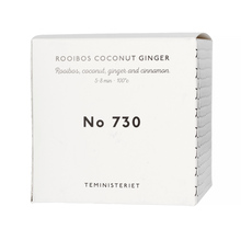 Teministeriet - 730 Rooibos Coconut Ginger - Loose Tea 100g- Refill