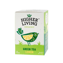 Higher Living Green Tea Lemon - tea - 20 teabags