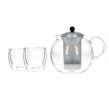 Bodum Assam Set - Tea Press + 2 Glasses