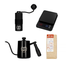 Gift Set: Scale + Kettle + Hand Grinder + Coffee