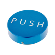 Clockwork Espresso - PUSH Tamper - Blue