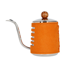 Barista Space - Pour-Over Synthetic Leather Wrapped Kettle 550 ml