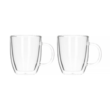 Bodum Bistro Jumbo Double-wall Mugs - 450 ml - 2 pieces