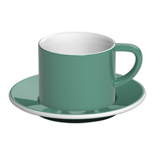 Loveramics Bond - 150 ml Cappuccino cup and saucer - Teal