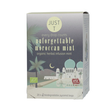 Just T - Unforgettable Moroccan Mint - 20 Tea Bags