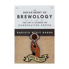 Department of Brewology - Spros B4 Bros Pin