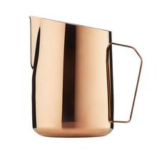 Barista & Co - Dial In Milk Pitcher Rose Brass - 600ml