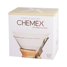 Chemex round paper filters 6, 8, 10 cups (outlet)
