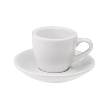 Loveramics Egg - Espresso 80 ml Cup and Saucer - White
