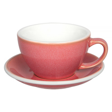 Loveramics Egg - Cafe Latte 300 ml Cup and Saucer  - Berry