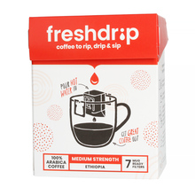 Freshdrip - Red Ethiopia Medium-Strength - 7 sachets