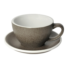 Loveramics Egg - Cafe Latte 300 ml Cup and Saucer  - Granite