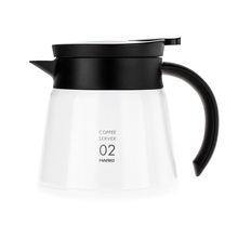 Hario Insulated Stainless Steel Server V60-02 White - 600ml