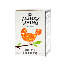 Higher Living English Breakfast - tea - 20 teabags