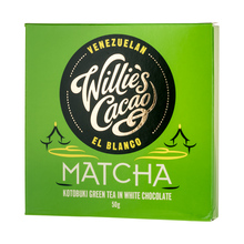 Willie's Cacao - Kotobuki Green Tea in White Chocolate 50g