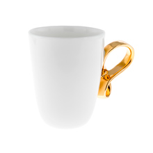 ENDE - 150ml Cup - Mobius - White with Gold