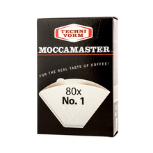 Moccamaster paper filters # 1 (outlet)