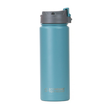EcoVessel - Insulated Water Bottle PERK - Teal Lagoon 600 ml