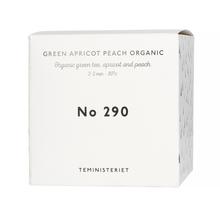 Teministeriet -  290 Green Apricot Peach Organic - Loose Tea 100g - Refill