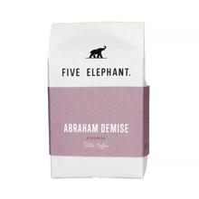 Five Elephant - Ethiopia Abraham Demise