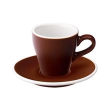 Loveramics Tulip - Cup and saucer - Espresso 80 ml - Brown