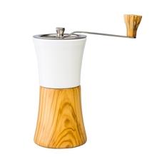 Hario - Ceramic Coffee Mill Olive Wood