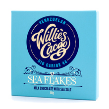 Willie's Cacao - Milk Chocolate with Sea Flakes 50g