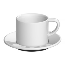 Loveramics Bond - 150 ml Cappuccino cup and saucer - White