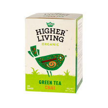 Higher Living Green Tea Chai - tea - 20 teabags