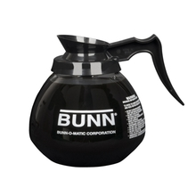 Bunn Black Handle Glass Decanter 1.9 L
