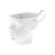 ENDE - 200ml Mug - Doll Head - White