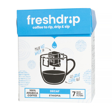 Freshdrip - Blue Ethiopia Decaf - 7 sachets