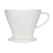 Melitta - Porcelain coffee filter (dripper) 1x4 - White