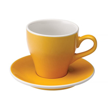 Loveramics Tulip - Cup and saucer - Cafe Latte 280 ml - Yellow