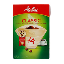 Melitta Paper Coffee Filters 1x4 - Classic - 80 pieces
