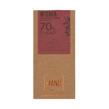 Manufaktura Czekolady - Chocolate 70% - Cherry