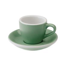 Loveramics Egg - Espresso 80 ml Cup and Saucer - Mint