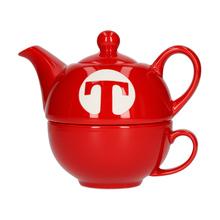 Mount Everest Tea - Tea For One Capital T Red - Tea Set
