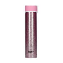 Asobu - Skinny Mini Pink Glitter - 230 ml Travel Bottle (outlet)